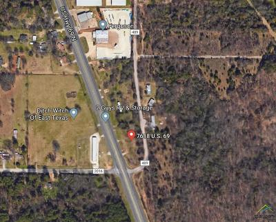 Tyler Commercial For Sale: 7618 N Hwy 69