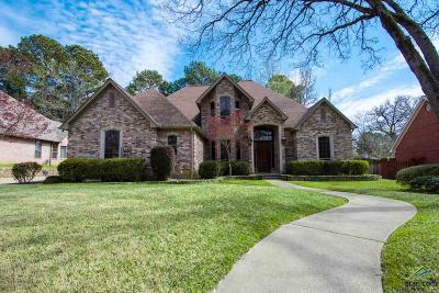 Tyler Single Family Home For Sale: 3607 Canyon Creek