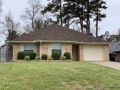 Longview Single Family Home For Sale: 3909 Thomas