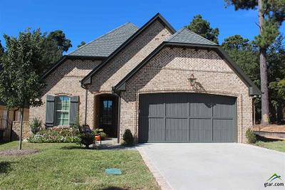 Tyler Single Family Home For Sale: 7312 Lake Pointe Cove