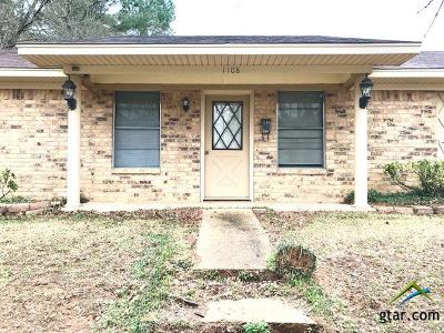Kilgore Single Family Home For Sale: 1108 Roy