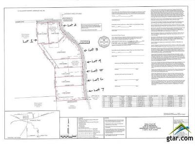 Chandler Residential Lots & Land For Sale: Lot 7 000 Noonday Rd (County Road 3202)