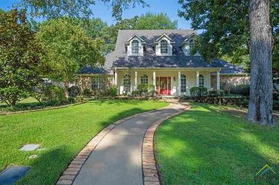 Longview Single Family Home For Sale: 3711 Holly Trail