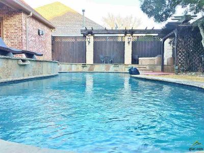 Tyler Single Family Home For Sale: 2110 Dover Lane