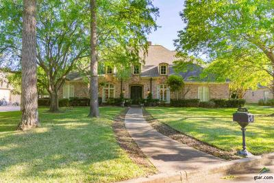 Tyler Single Family Home For Sale: 1514 Holly Creek Dr