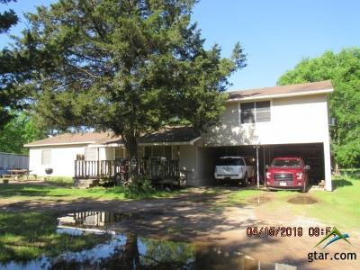 Longview Single Family Home For Sale: 385 Cairy Ln
