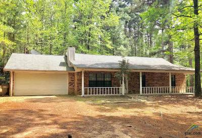 Holly Lake Ranch TX Single Family Home For Sale: $142,500