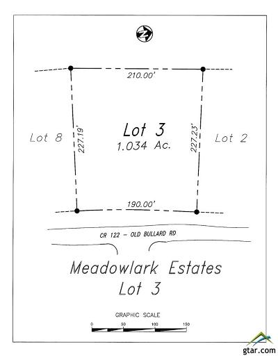 Tyler Residential Lots & Land For Sale: 17858 County Road 122