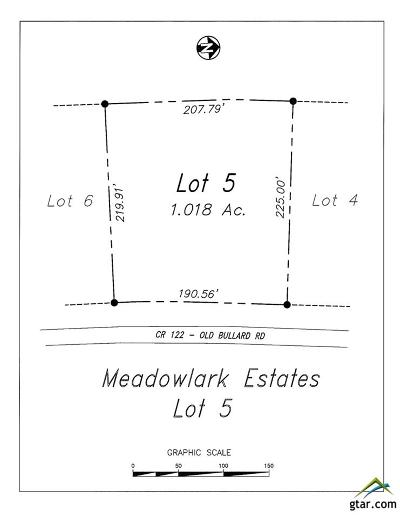Tyler Residential Lots & Land For Sale: 18098 County Road 122