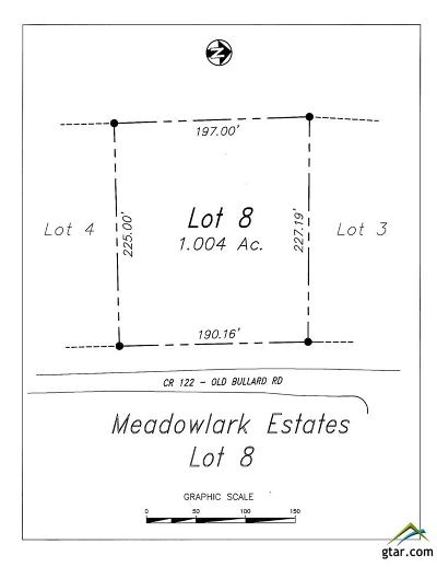Residential Lots & Land For Sale: Lot 8 County Road 122