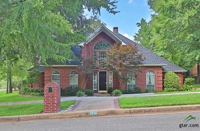 Tyler Single Family Home For Sale: 1216 Ashwood Dr.