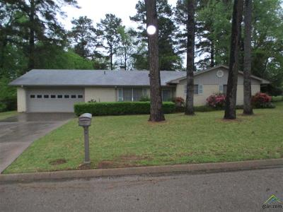 Longview Single Family Home For Sale: 208 S Moseley