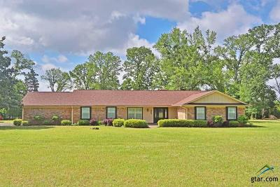 Tyler Single Family Home For Sale: 1698 County Road 3133
