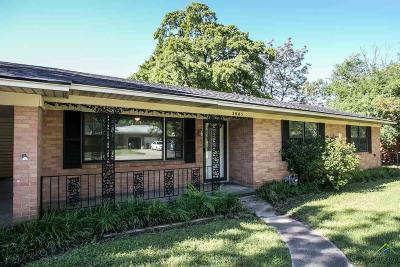 Tyler Single Family Home For Sale: 2805 Willard Dr.