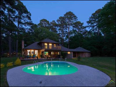 Tyler Single Family Home For Sale: 19540 Lakeshore Drive