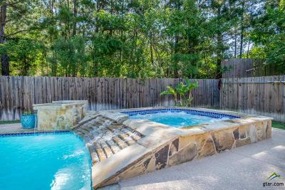 Tyler Single Family Home For Sale: 8204 Crooked Trail