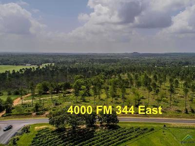 Bullard Acreage For Sale: 4000 E Fm 344