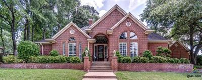 Tyler Single Family Home For Sale: 1109 Ashwood Drive