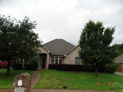 Tyler Single Family Home For Sale: 5905 Brynmar