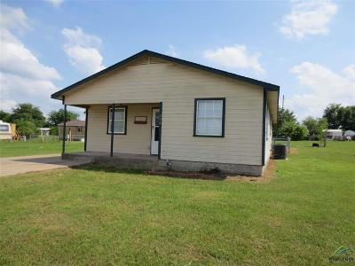 Quitman Single Family Home For Sale: 404 Holiday Village Dr