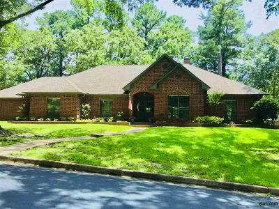 Tyler Single Family Home For Sale: 1401 Tall Timber