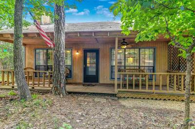 Holly Lake Ranch TX Single Family Home For Sale: $96,500