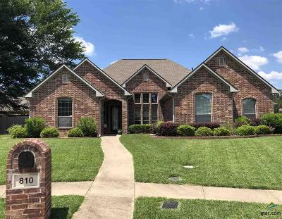 Tyler Single Family Home For Sale: 810 Marquette Ln
