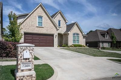 Tyler Single Family Home For Sale: 7366 Lake Pointe Cove