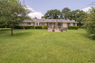 Tyler Single Family Home For Sale: 15209 C R 343 Kingslane