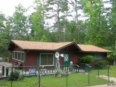 Holly Lake Ranch TX Single Family Home For Sale: $145,000