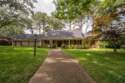 Tyler Single Family Home For Sale: 2102 Parkway Place