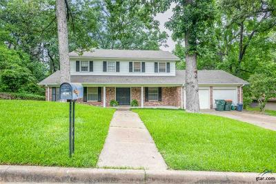 Tyler Single Family Home For Sale: 1516 Everglades