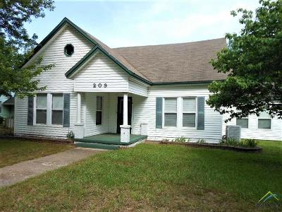 Winnsboro TX Single Family Home For Sale: $134,900