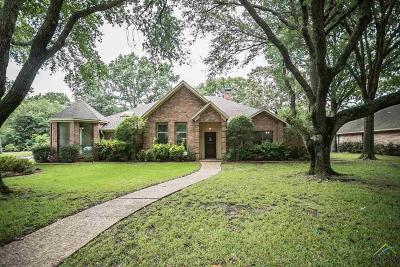 Tyler Single Family Home For Sale: 1309 Wimbledon
