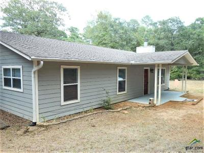 Holly Lake Ranch TX Single Family Home For Sale: $134,900