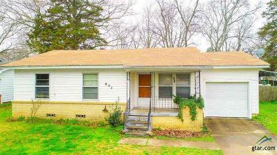 Kilgore Single Family Home For Sale: 803 Parkview St.