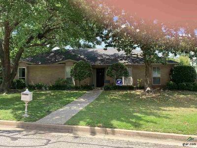 Tyler Single Family Home For Sale: 605 Spring Creek Dr.