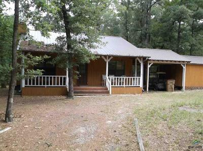 Holly Lake Ranch TX Single Family Home For Sale: $80,000