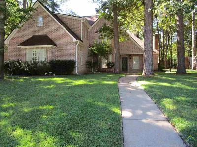 Tyler Single Family Home For Sale: 3601 Woods Blvd