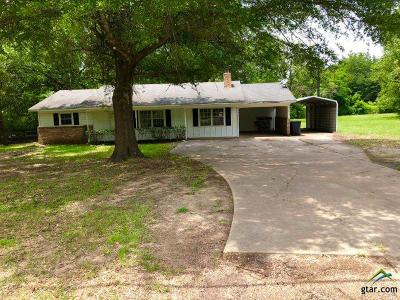 Quitman TX Single Family Home For Sale: $110,000