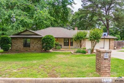 Tyler Single Family Home For Sale: 14918 Willowwood Dr