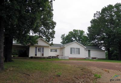 Frankston TX Single Family Home For Sale: $110,000