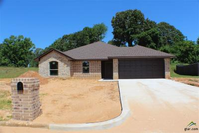 Overton TX Single Family Home For Sale: $179,500