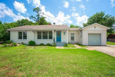 Kilgore Single Family Home For Sale: 3406 Stone Rd.