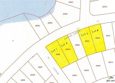 Murchison Residential Lots & Land For Sale: Lots 1 & 3 Callender Lake Drive