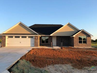 Lindale Single Family Home For Sale: 13359 Hickory Oak Drive (Lot 14)