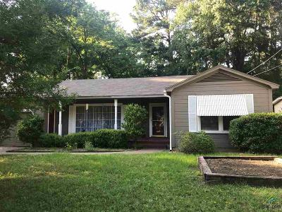 Tyler Single Family Home For Sale: 1015 W 9th St