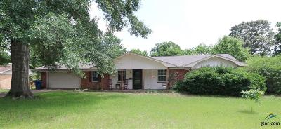 Tyler Single Family Home For Sale: 13739 Indian Dr.