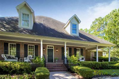 Longview Single Family Home For Sale: 10 Spring Creek Place