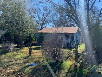 Grand Saline Single Family Home For Sale: 1209 W Frank St.
